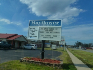 Mayflower Medical Clinic sign